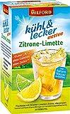Milford kühl & lecker active Zitrone-Limette, echter Früchtetee, mit Vitamin C, Vitamin D und Zink, 50 g