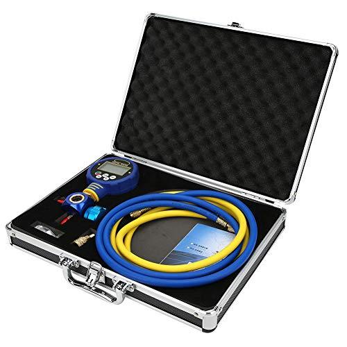 【𝐎𝐟𝐞𝐫𝐭𝐚𝐬 𝐝𝐞 𝐁𝐥𝐚𝐜𝐤 𝐅𝐫𝐢𝐝𝐚𝒚】 Medidor de refrigeración, precisión Digital de Baja presión ± 0,5% Medidor de vacío de indicación de bajo Voltaje, para Uso Industrial