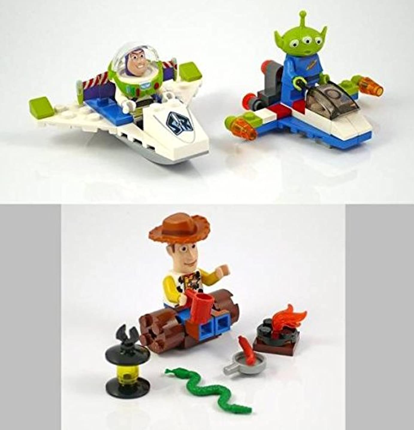船尾ベスビオ山所有権LEGO トイストーリー シリーズ 3点セット