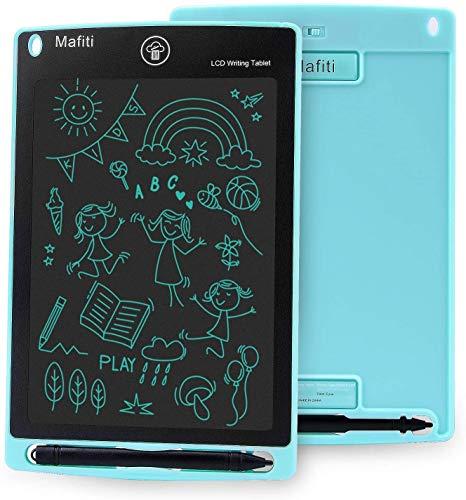 Mafiti - Tableta de escritura LCD de 8,5 pulgadas con pantalla táctil (cian)