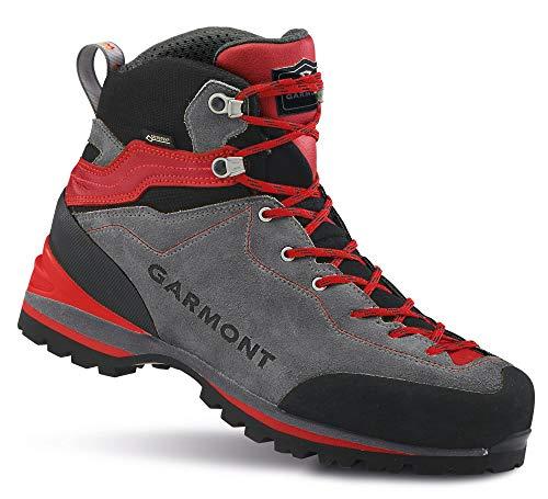 GARMONT M Ascent GTX Grau-Rot, Herren Gore-Tex Wanderschuh, Größe EU 46.5 - Farbe Grey - Red
