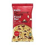 H.V.M.N. Keto Food Bar - Chocolate Chunk Keto Bars | Gluten Free, 13g Protein, Low Carb, No Added Sugar, Certified Organic Keto Snack (12 Pack)…