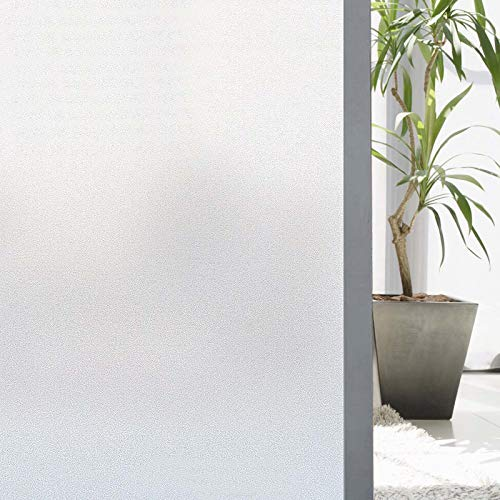 Zindoo Vinilos para Cristales 89 X 200 cm Vinilo Ventana Vinilo Translucido Vinilos Decorativos Cristales Laminas para Ventanas Privacidad del Bano
