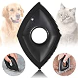 Saqico Mini pet Hair Remover, Dog Hair Remover, cat Hair Remover, Used for car Detailing and Cleaning of pet Hair on Carpets, car Seats, Furniture, Sofas, pet beds, Clothes, etc(Black)