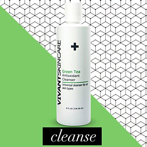 Vivant Skin Care Green Tea Antioxidant Cleanser