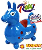 Gymnic Rody Horse Inflatable Bounce & Ride, 'Matty's Toy Stop' Exclusive Blue & Red (7024)