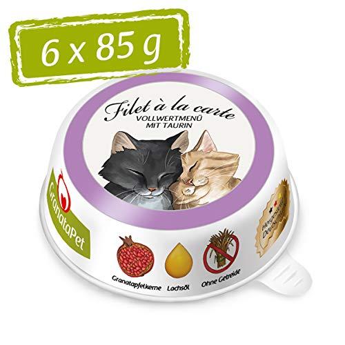 GranataPet Filet a la Carte Ente & Huhn, 6er Pack (6 x 85 g)
