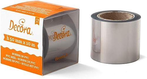 Decora 0160718 Bobine PVC MT.10 H50 mm, Autre, 10 m x 50 m
