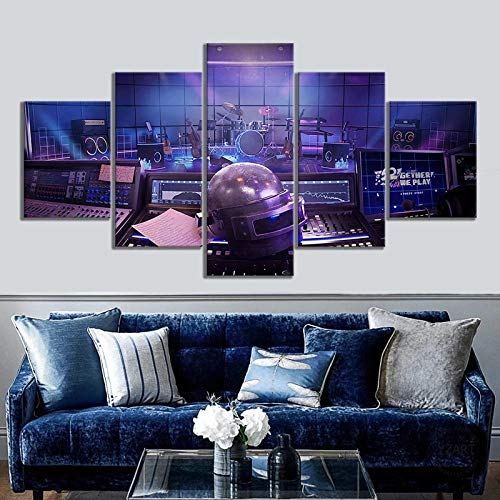 XFDSF Wall Art Canvas Print for Living Room Decoration 5 Panels Painting Print on Canvas High...