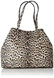 Guess Vikky Large Tote, Bolso Tipo Mujer, Multicolor (Leopard), 18x31x40 Centimeters (W x H x L)