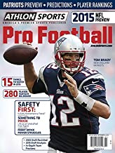 Athlon Sports 2015 NFL Pro Football Magazine Preview- New England Patriots Cover
