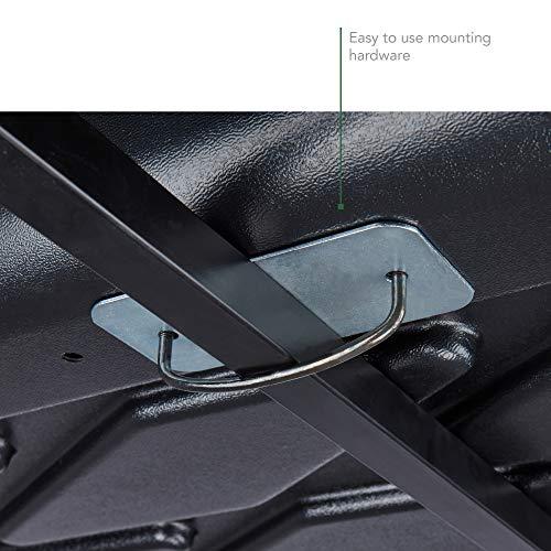 SportRack Vista XL Rear Opening Cargo Box (Black, 18 Cubic Feet)
