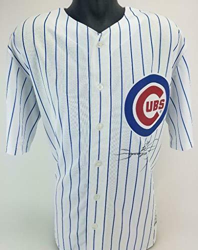 Sammy Sosa Signed Chicago Cubs Majestic MLB Cool Base Jersey Fanatics & MLB Cert - Autographed MLB Jerseys