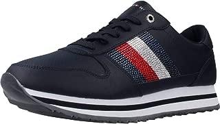 Tommy Retro Crystal Sneaker Midnight Fw0Fw04683Cki - 41 EU Blue