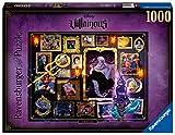 Ravensburger Puzzle 1000 Piezas, Villainous, Ursula, Puzzle Disney, Rompecabezas Ravensburger de Alta Calidad, Villanos Puzzle, Edad Recomendada 12+