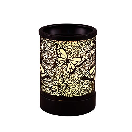 Lucktao Butterfly Electric Wax Melter Candle Warmer ,Wax Warmer for Scented Wax,Melter Fragrance Warmer for Home Office Bedroom Living Room Gifts & Decor (Butterfly)