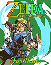 Zelda Coloring Book for Kids: A Best coloring pages of zelda collectibles for kids and teens
