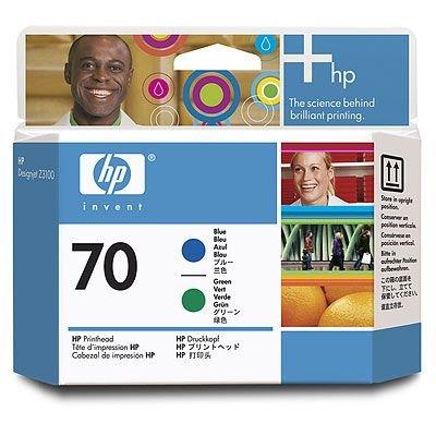 Original HP C9408A 70 Druckkopf Blau fur HP DesignJet Z 3100 GP