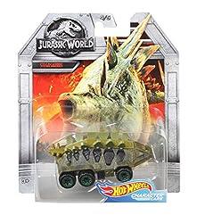 5. Hot Wheels Jurassic World Stegosaurus Car