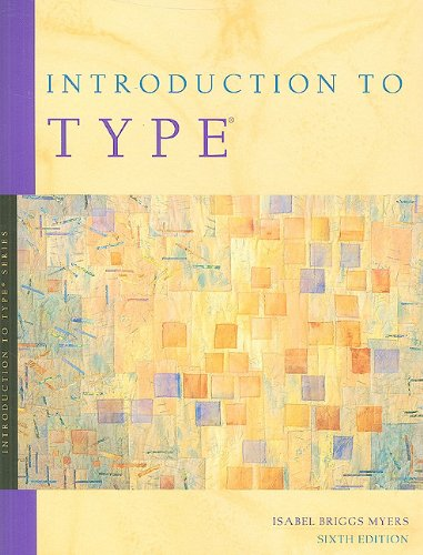 Introduction to Type: A Guide to Understanding Your...