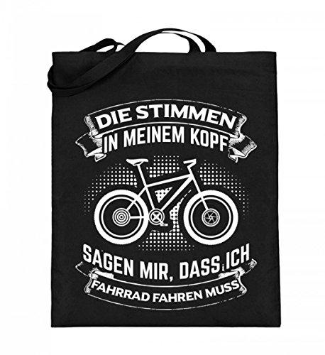 Chorchester ideaal voor alle fietsfans. Hoogwaardige jute zak (met lange hengsels) -