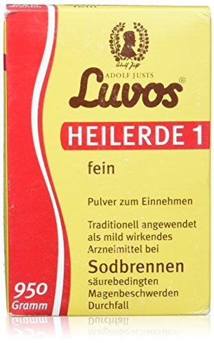 Luvos Heilerde 1 fein Pulver bei Sodbrennen, 950 g Pulver