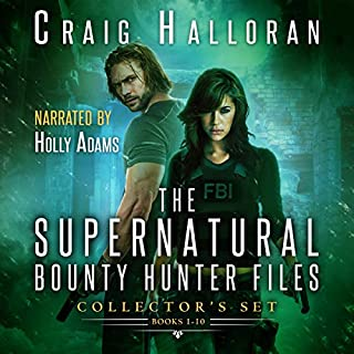 The Supernatural Bounty Hunter Files Collector's Set: Books 1-10 cover art