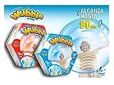Wubble Bubble - Pelota Transparente (varios modelos)-BURBUJA WUBBLE HINCHALA Y JUEGA CON ELLA, color azul, 18.8 x 9.9 x 8.4 (Glop Games 98044) , color/modelo surtido