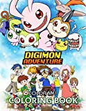 Color Me! - Digimon Adventure Coloring Book: Perfect Gift For True Fans, Adults, Teenagers With Vivid Illustrations of デジモンアドベンチャー
