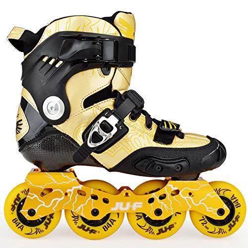 Patines de Carbono Freno Zapatos Planos de Rodillos de Rueda...