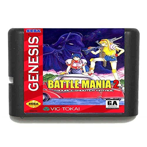 Jhana Battle Mania Dai Gin Jou II para tarjeta de juego Sega...