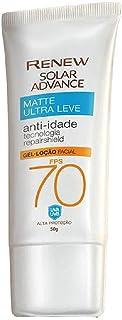Avon - Renew Solar Advance Matte Ultraleve Anti-Idade FPS 70