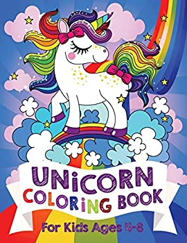 Unicorn Coloring Book  For Kids Ages 4-8  US Edition   Silly Bear Coloring Books
