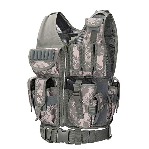 Best for Large People: GZ XINXING Tactical Airsoft Paintball Vest