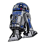 "STAR WARS Clone Wars R2D2 PATCH Iron-On / Sew-On Disney Officially Licensed Movie & TV Artwork, 3"" x 2.5"" EMBROIDERED Patch"