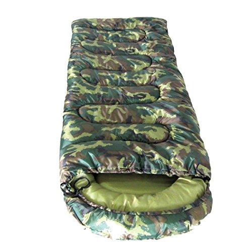Xin.S Enveloppes Sacs De Couchage Portables Imperméables Sacs Compressés Adapté Pour Voyage Camping Randonnée Activités De Plein Air,Green-(185+30)*75cm