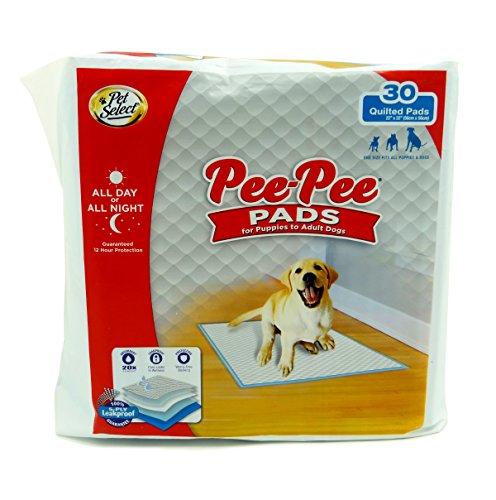 Pet Seleccione Pee-Pee Mascota Formación y Cachorro Almohadillas, 22'x...