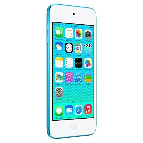 Apple iPod Touch 16GB Blue (5th Generation) (Renewed)