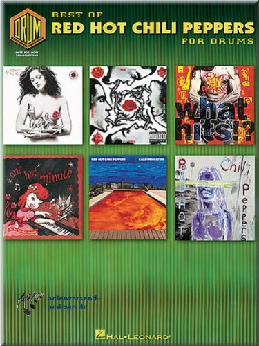 Best Of Red Hot Chili Peppers for Drums - Schlagzeugnoten [Musiknoten]