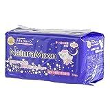 ナチュラムーン 生理用ナプキン 多い日の夜用(羽つき) 10個入