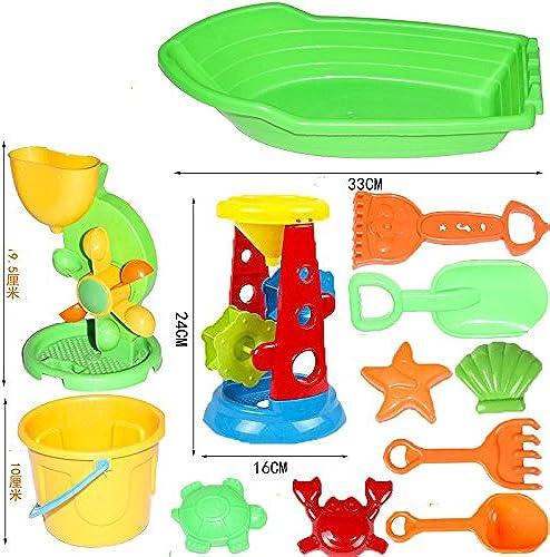 Kinder Strand-Spielzeug-Auto Satz Barrel Baby-Spielen Sand Ausbaggern Größe Schaufel Spielen Sand Werkzeuge (Farbe   D)