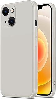TANAKEY Siliconen Hoesje Compatibel met iPhone 13, Schokbestendig Vloeibaar Siliconen Hoesje Compatibel met iPhone 13 Pro...