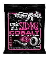 【 並行輸入品 】 Ernie Ball (アーニーボール) 2723 Cobalt エレキギター, Super Slinky (9 - 42)