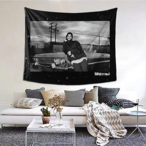 Boyz N The Hood Doughboy Leaning On Impala Portrait Ice Cube Large Wall Tapestry One Size Home Decoration Wall Hangings Dorm