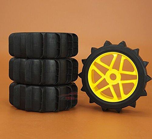 Junsi 1/10 Blue Auminum Alloy Wheel Rim for RC On Road Drift Rally Cars HSP94123 HPI
