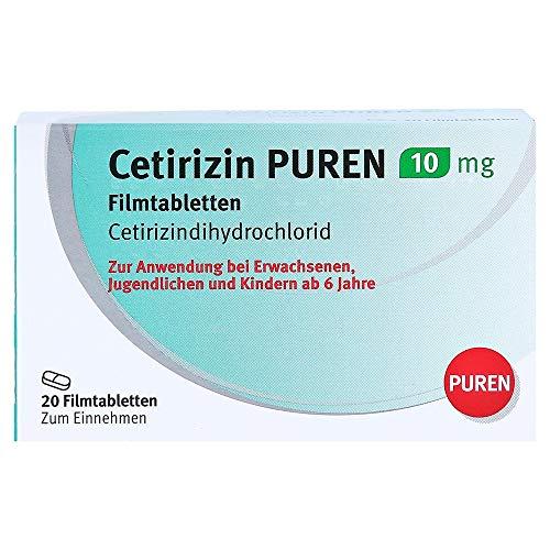 Cetirizin PUREN 10mg Filmtabletten 20 Stück