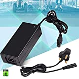 Battery Charger, AC 240V Black Battery Safe Charger Replacement Adapter for 6.5/8 / 10 inches Smart Scooters Electric Balance(#1)