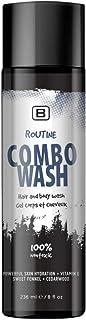 Routine Combo Wash - EWG VERIFIED - Organic - | Cruelty Free | Vegan. 2-in 1 Shampoo and Body Wash