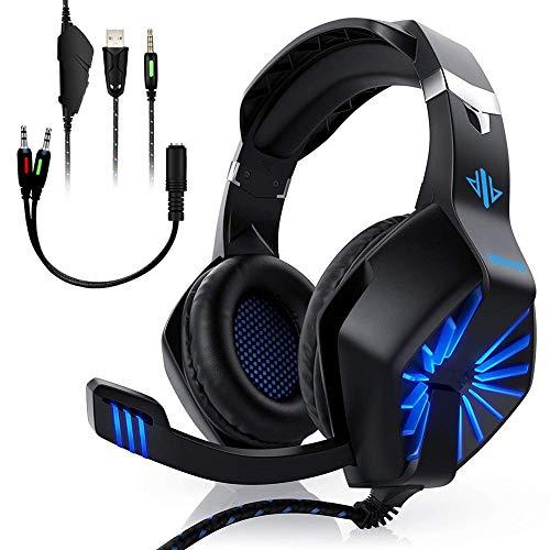 ODDGOD Gaming Headset Stereo Sur...