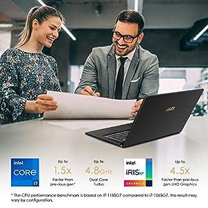 "MSI Summit E15 Professional Laptop: 15"" IPS-Level Touch Screen, Intel core i7-1185G7, NVIDIA GeForce GTX 1650 Ti (Max-Q), 16GB RAM, 1TB NVMe SSD, Win10 PRO, Ink Black (A11SCS-207)"